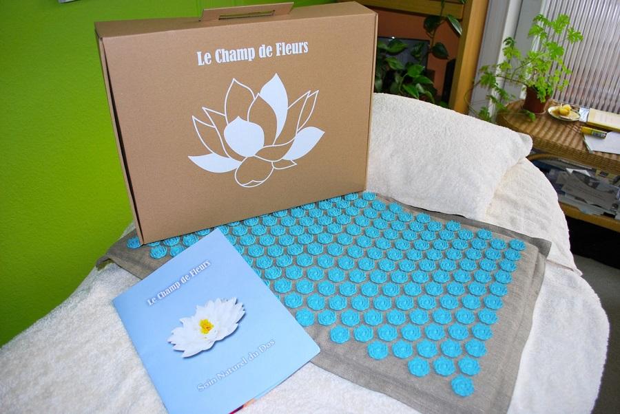 notice sur comment utiliser le tapis champ de fleurs
